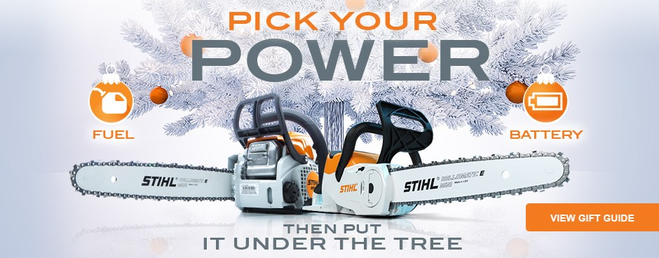 Shop the STIHL Holiday Gift Guide